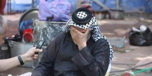 ناراحتی موکبداران هنگام وداع با زائران اربعین+عکس